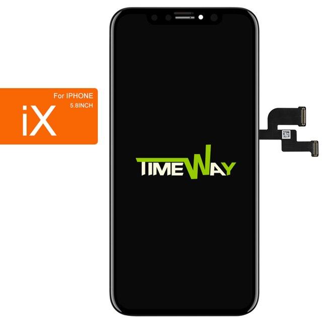 Téléphone portable LCD pour iphone X XS MAX XR écran bonne qualité AMOLED OEM 3D tactile pour iphone X XS MAX XR LCD affichage assemblée