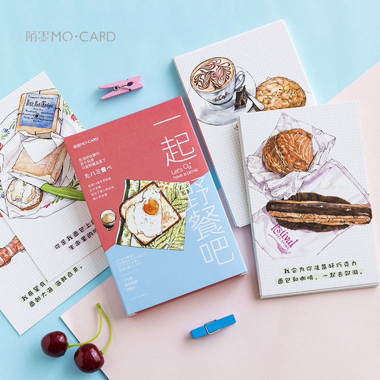 3 set/1 lot Retro Paper Norio Greeting Card Postcards Birthday Bussiness Gift Card Set Message Card 3sets lot retro time literature and art tape christmas greeting cards postcards set gift card post card