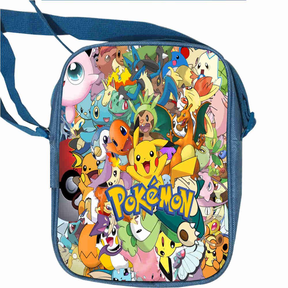 Dragon Ball Super Blaze AJ Messenger Bags Anime Pokemon Animal Casual Flap  Travel Shoulder Bag Boys fcbab67e010f