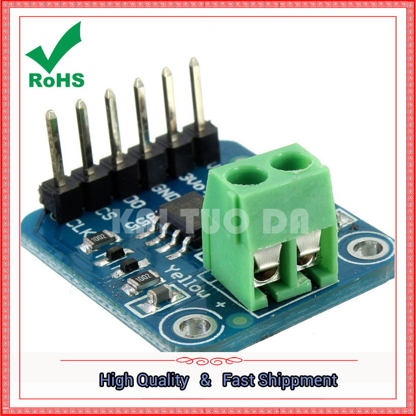 K type thermocouple module 1350 degrees high temperature SPI interface digital direct readable temperature MAX31855 board