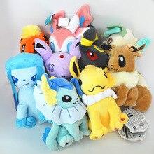 Pokemon Plush Toys Umbreon Eevee Espeon Jolteon Vaporeon Flareon Glaceon Leafeon Animals Stuffed Doll Toy 20cm