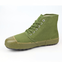 2017 Spring And Summer Light Green Men S Canvas Military Boots Combat S Asker Bot Infantry