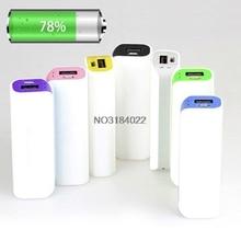 1Pc 2600mAh USB 1 x 18650 External Battery Case Charger Power Bank DIY Box Portable