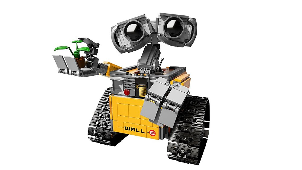 Lepin 16003 687pcs dea Robot WALL E Building Set Kits Blocks Bringuedos Bricks Cute For Children Gifts With 21303 Model Toys new 687pcs lepin 16003 ideas series wall e lovable robot wall e building block minifigures with legoe 21303 toy kids boy
