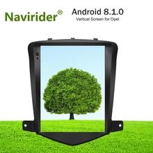 Вертикальный Экран android 8.1.0 gps-навигация для Opel Astra J Vauxhall Автомобильный мультимедийный двойной стерео зоны Радио BT4.0 головное устройство