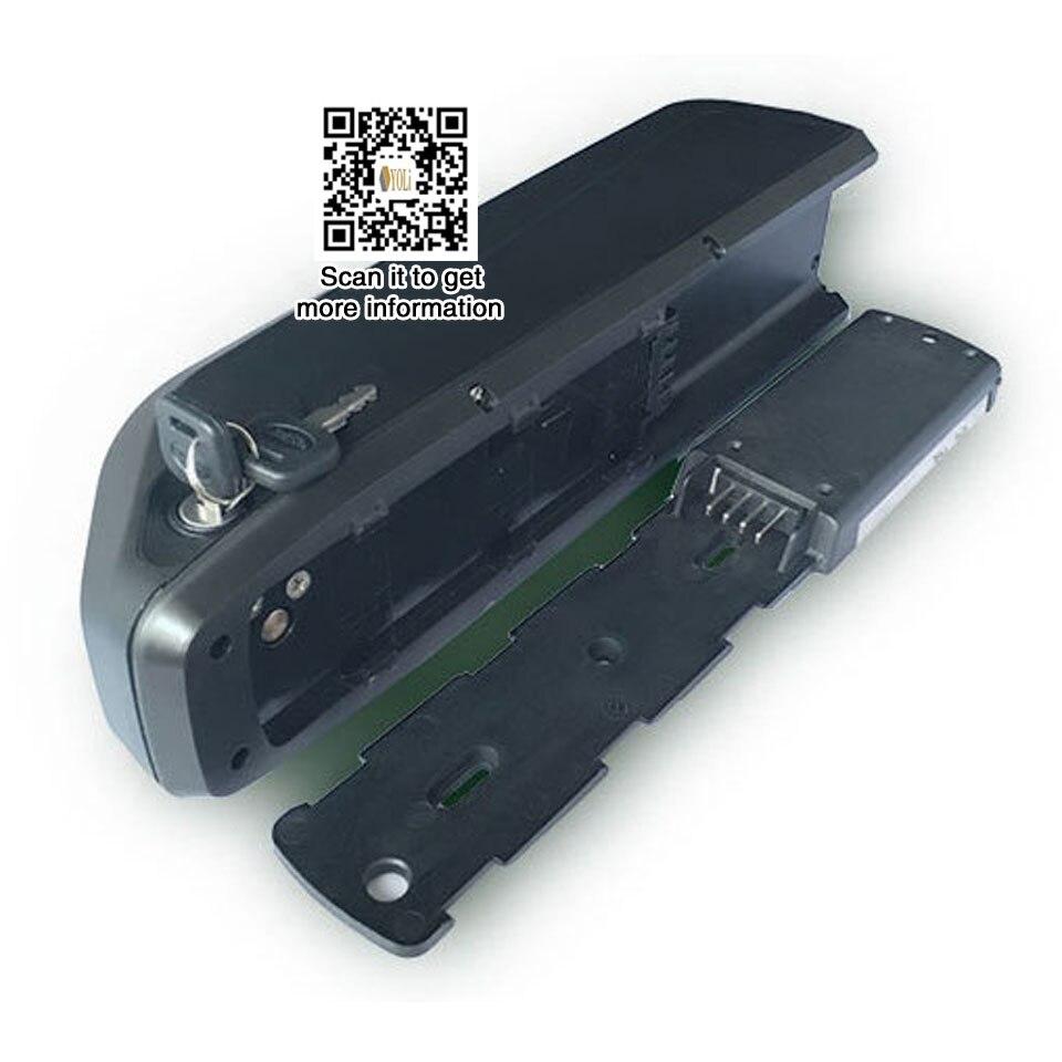 Hailong 52 V 17.5AH tubarão de lítio bateria da bateria ebike 750 w 1000 w 1500 w bicicleta elétrica da bateria com 40A bms