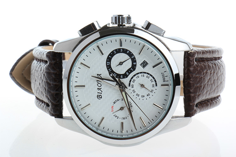 2016 NEWEST BIAOKA men s watch week double calendar automatic mechanical watch Date Clock Men s