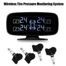 Tire Stress Monitor System TPMS with inside Sensors (4pcs sensor)
