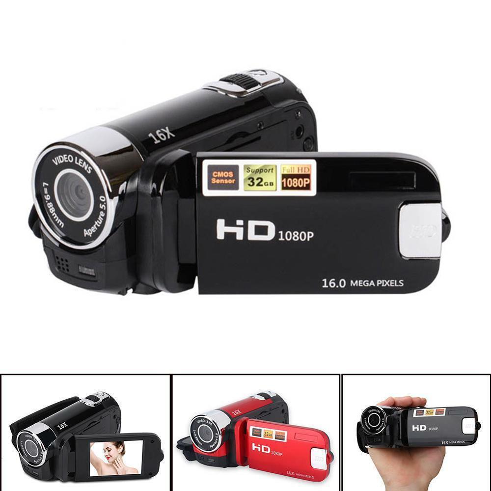 Full HD 1080P Portable 16MP 270 Degree Sports Vidicon Rotation High Definition Digital Camcorder ABS DV Camera FHD Video Cameras