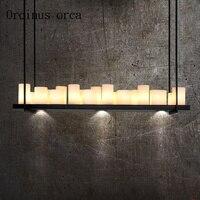 País americano retro industria hierro candelabro originalidad personalidad simplicidad bar moderno sala de estar lámparas