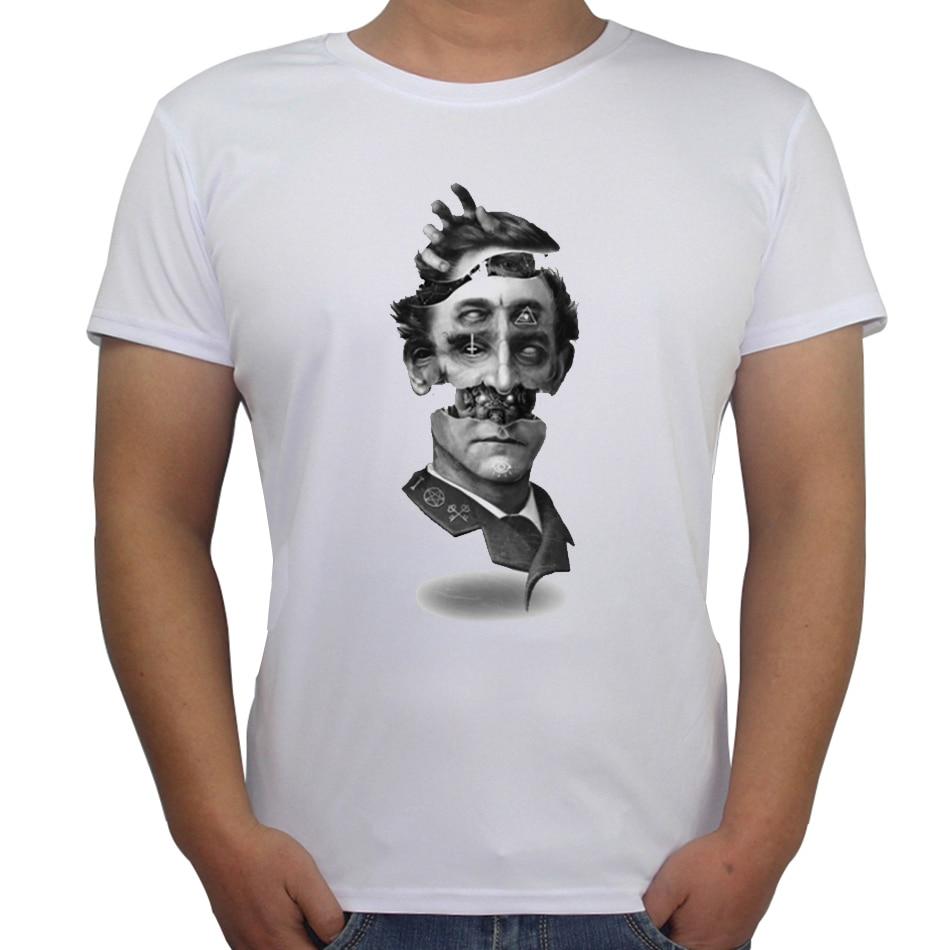 Gt86 design t shirts men s t shirt - New Design T Shirts Men S Customized Halloween T Shirt The Visionary Retro Printed Male Tops