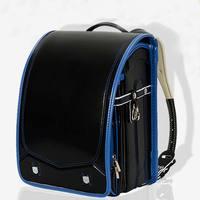 New design student solid waterproof PU School Bags Children's Orthopedic Backpack School Bag Children Backpack For Boy And Girl