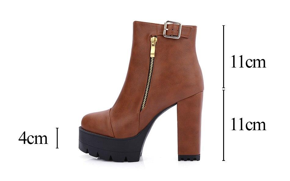 women boots heel shoes