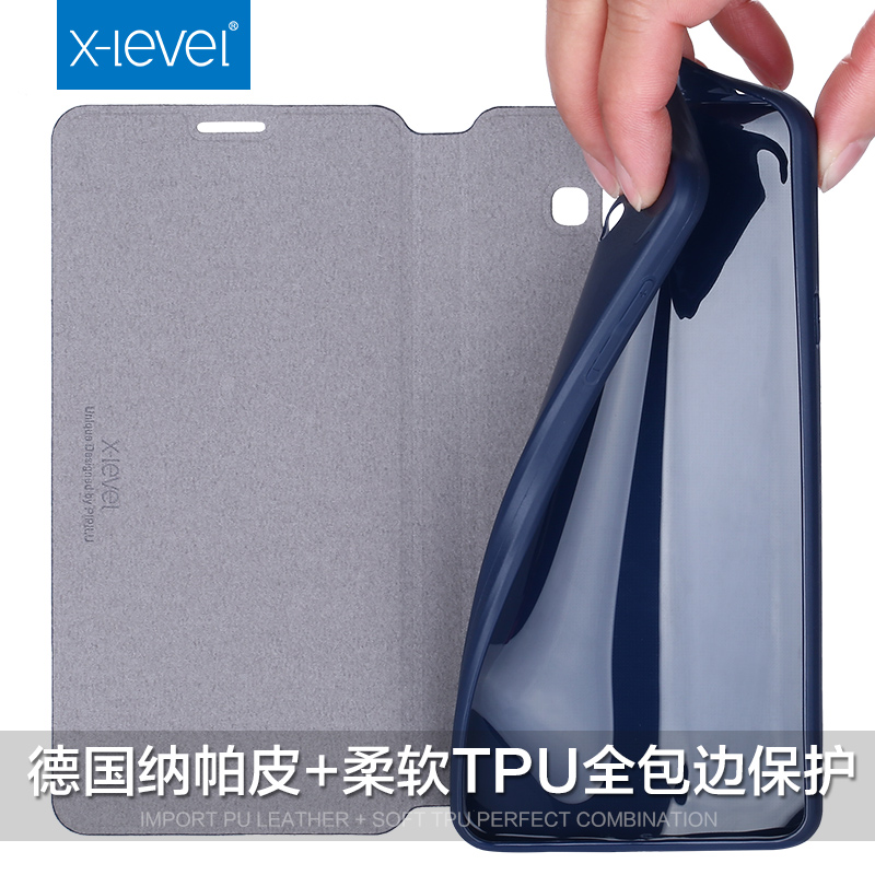 US $9 49 25% OFF|X Level Flip Leather Case for Samsung Galaxy A5 2017  A520F/DS Cover Cases for Samsung A5 2016 A510F Dual Sim Business Case  Cover-in