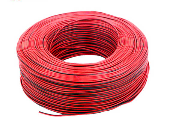 Doppel farbe linie draht mantel linie 2 core 0,2/0,3/0,5/0,75/1/1,5 kabel hause stromleitung meter