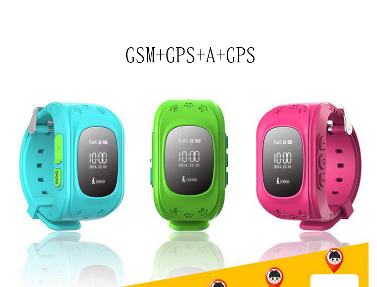 GPS Tracker Smart font b Watch b font for Kids SOS Emergency Anti Lost font b