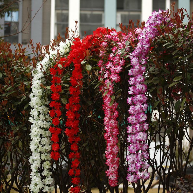 how to make fake flower garland