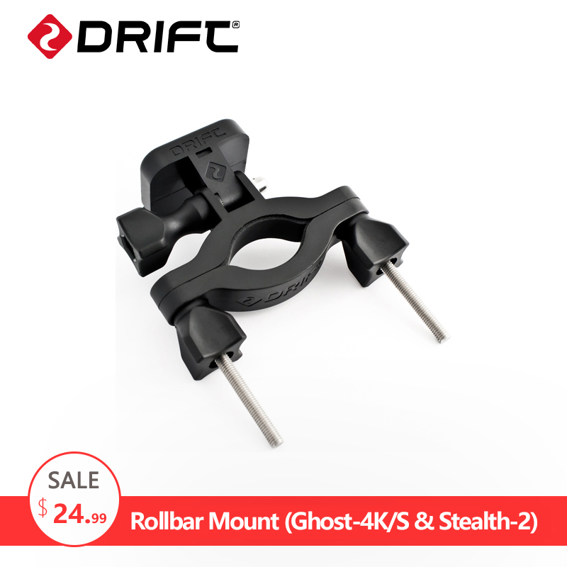 DRIFT Action Camera Accessories Motorcycle Bicycle Bike Holder <font><b>Handlebar</b></font> Adapter Go Sport pro Rollbar Mount For Ghost Stealth