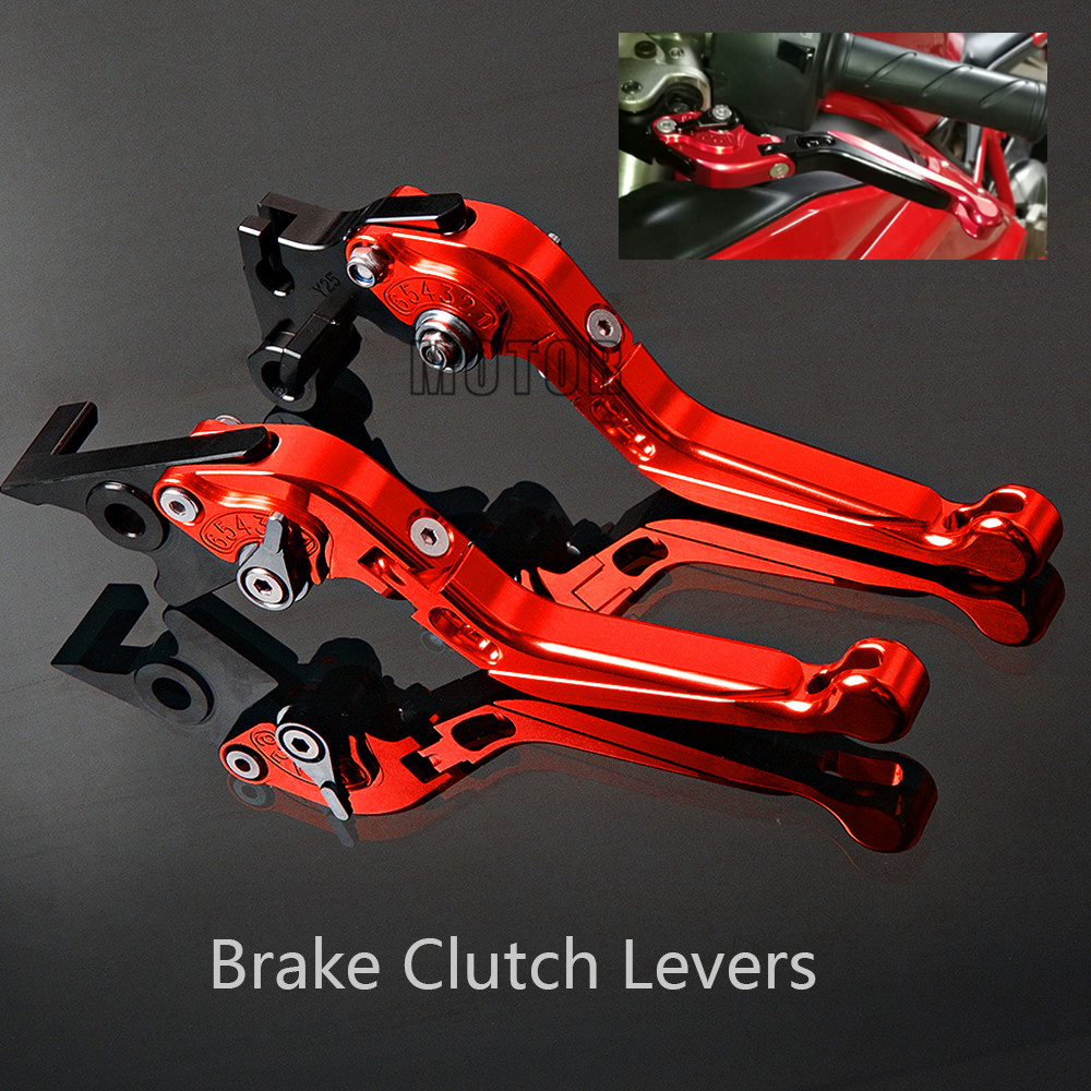 For Honda CBR125R CBR 125 R CBR150R CBR300R CB300F CB300FA CBR500R CB500F CB500FX GROM/MSX125 Motorcycle Brake Clutch Levers Honda Grom