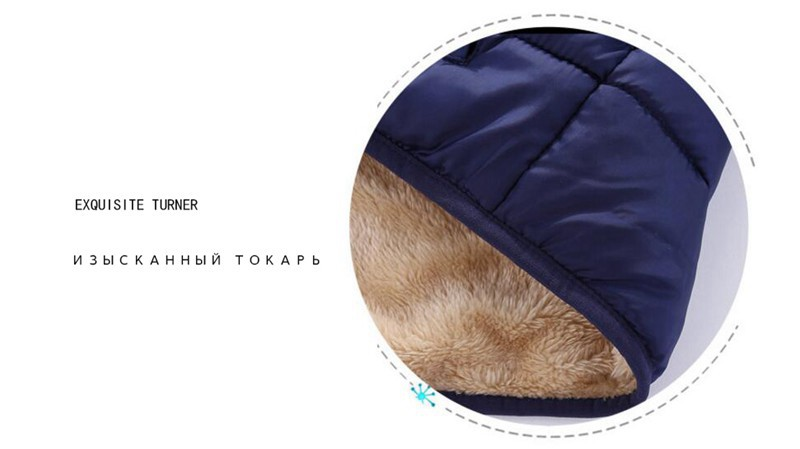 COOTELILI Fleece Winter Parkas Kids Jackets For Girls Boys Warm Thick Velvet Children's Coat Baby Outerwear Infant Overcoat (11)