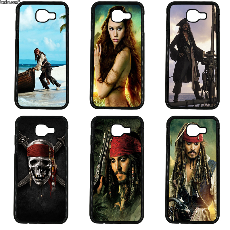 Hot Pirates Of The Caribbean Cell Phone Case Hard PC Cover for Samsung Galaxy A3 A5 A7 A8 A9 2016 2017 2018 Note 8 5 4 3 2 Shell