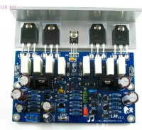 L20 Two Dual channel Amplifier Board With Angle Aluminum 200W8R + 65V FR4
