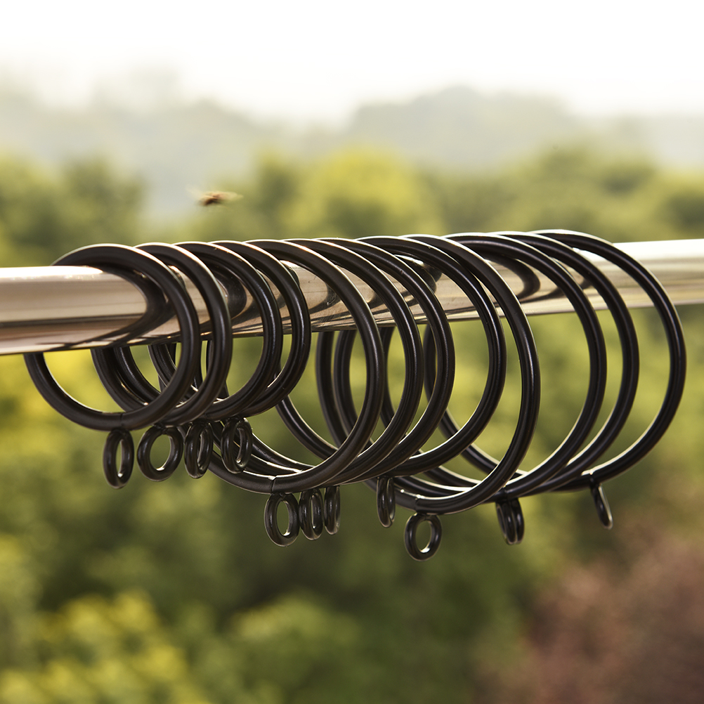 10pcs 5 Sizes Hanging Rings For Curtains And Rods High