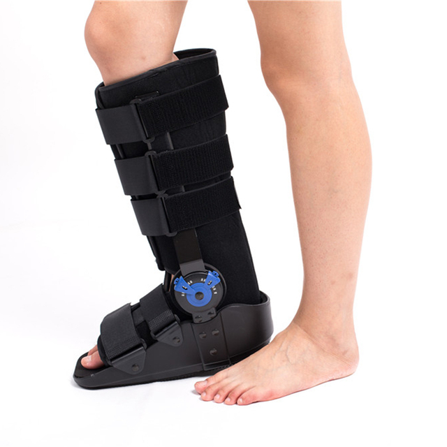 ROM Fix Ankle Walker Boot Ankle Support Braces Cast Shoe Used for Ankle Fracture Fibula Fracture Ankle Ligament Damage