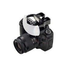 Biała miękka kopuła Pop zapalić błysk światła dyfuzor Bounce dla Nikon aparat Canon
