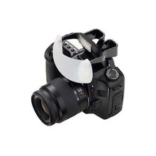 Bianco Cupola Morbida Pop Up Flash Light Bounce Diffusore per la Macchina Fotografica Nikon Canon