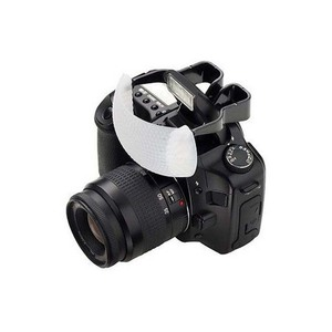 Image 1 - White Soft Dome Pop Up Flash Light Bounce Diffuser for Nikon Canon Camera