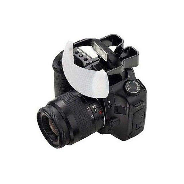 White Soft Dome Pop Up Flash Light Bounce Diffuser for Nikon Canon Camera