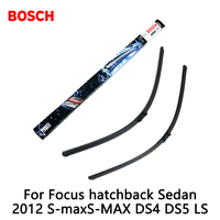 2pcs Lot Bosch Car AEROTWIN Wipers Windshield Wiper Blades Dedicated Wipers For Focus Hatchback Sedan 2012