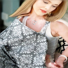 Купить с кэшбэком Baby Infant Nursing Cover Breast Feeding Cover Multifunctional Nursing Scarf Cover Breastfeeding Apron