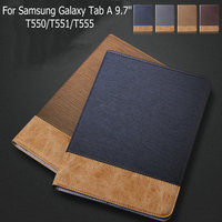 Original Fashion Cover Luxury Leather Case Wallet Up Case For Samsung Galaxy Tab A 9 7