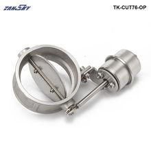 Вакуумный активированный Выпускной вырез 3 ''76 мм Открытый Стиль давление: около 1 бар для Ford Mustang 2005 TK-CUT76-OP