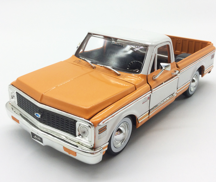 JADA 1 24 Scale Car Model Toys 1972 Chevrolet Pick Up Diecast Metal Toy For Collection Decoration Gift