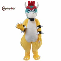 CosplayDiy Unisex Mascot Costume Super Mario Yoshi Dragon Turtle Costumes Adult Cartoon Character Cosplay For Halloween