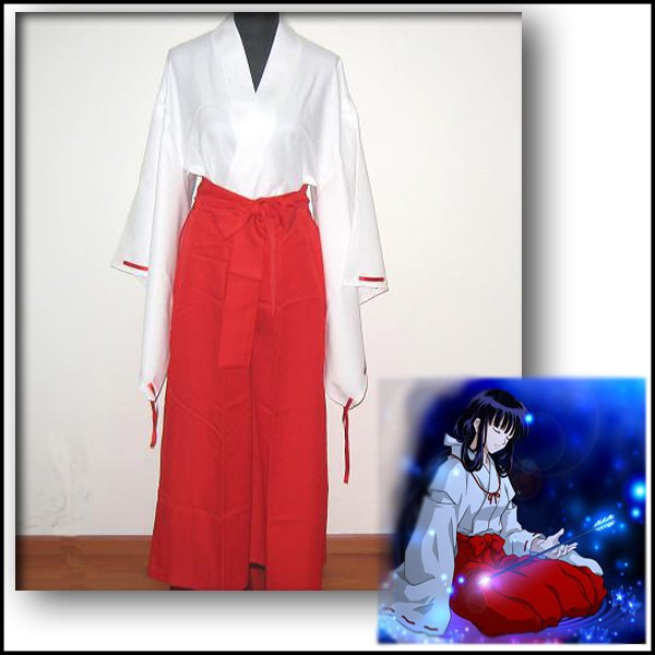 Free Shipping Fashionable [Inuyasha] COS Apparel, Red Animation ...