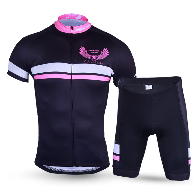 2018 Ghost Wings Cycling Sets for Men Short Sleeve Cycling Clothing Breathable Racing Bike/Bicycle Dress Sportswear Jersey Sets scott walker scott walker scott 3