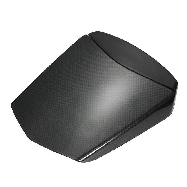 En De Couverture Carbone Noir Moto Cowl Fiber Arrière Seat Carénage 76gybfYv