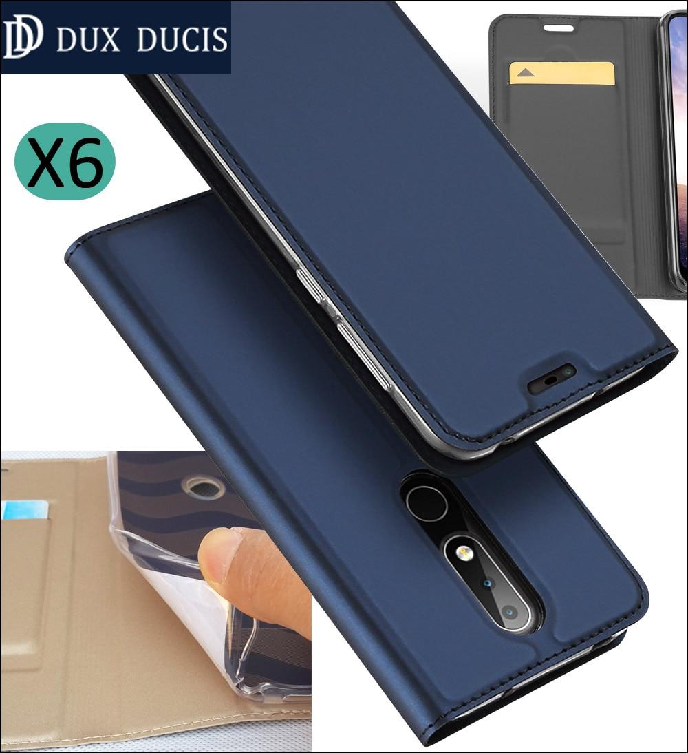 official photos ac244 50212 US $7.99 |Original DUX DUCIS Case Cover For Nokia 6.1 7.1 5.1 3.1 Plus Book  Flip Leather Wallet Coque-in Flip Cases from Cellphones & ...
