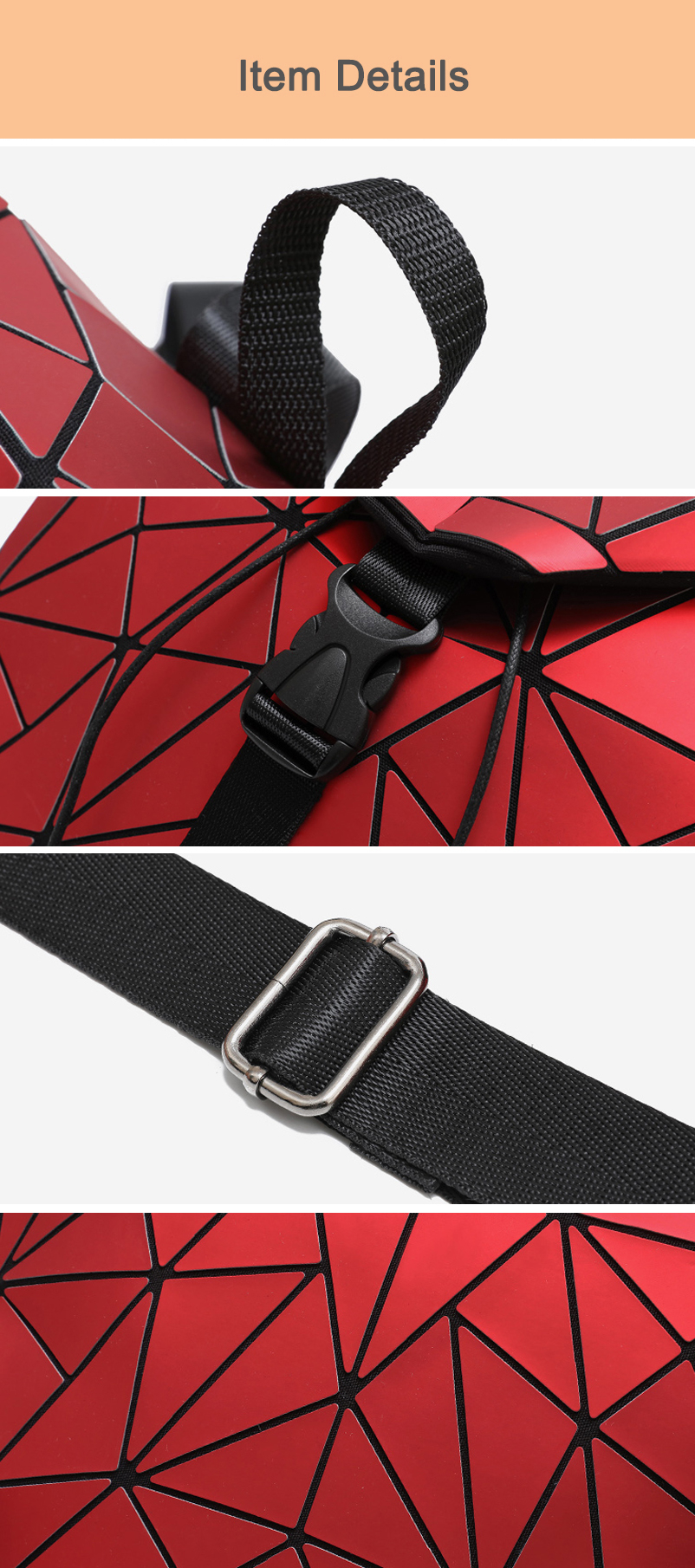 Nevenka Diamond Lattice Backpack Women Backpack Leather Creative Geometric Backpacks Drawstring Backpacks for Teenager Girl 201823