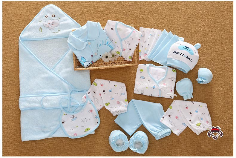 838bf42e3cc 21 Pcs Set Cotton Newborn Baby Clothing Set for Girls Boys Toddler Baby  clothes New Born Gift Set-in Clothing Sets from Mother   Kids on  Aliexpress.com ...