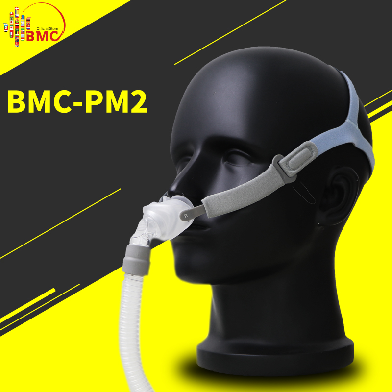 BMC P2 Nasal Pillows Mask For Sleep Snoring And Apnea CPAP Devices