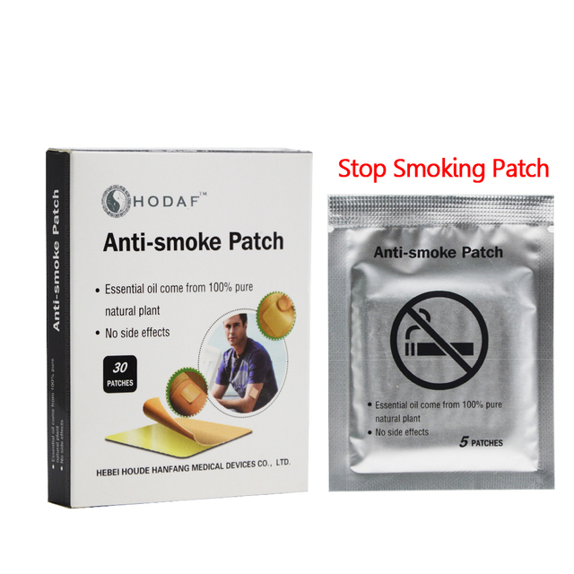 30pcs  Transdermal System Nicotine Patch Supply Tabacco Leaf Health Healthy Effective Quit Stop Smoking Cessation Aid Kit C744 1