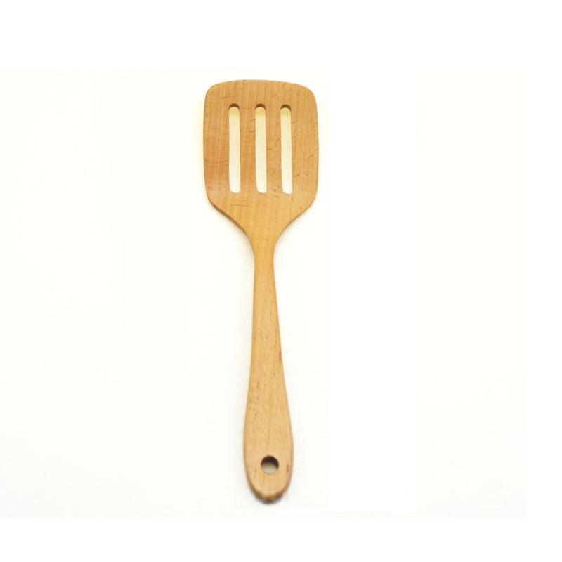Compra esp tulas de madera para cocinar online al por - Utensilios de cocina de titanio ...