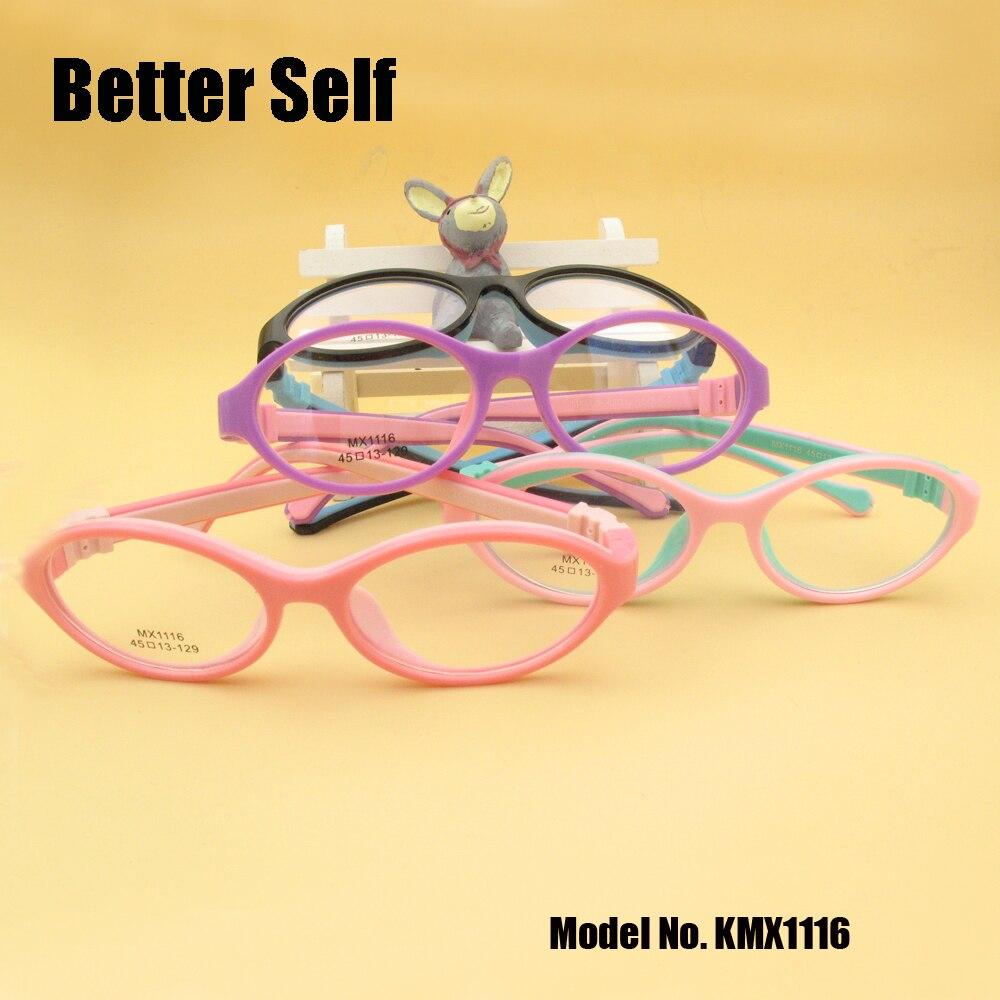 Chashma Round Rubber Eyeglasses Kids Flexible Silicone Glasses ...