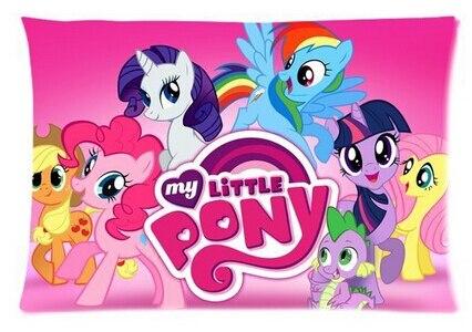 Cartoon Pony Custom Rectangle Pillow Cases Friendship Magic Children Kids
