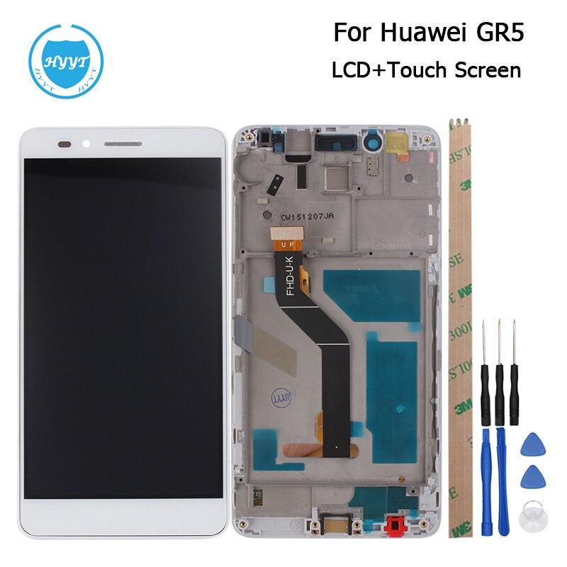 imágenes para Para Huawei Honor GR5 5X Pantalla LCD y Panel de Pantalla Táctil Con Marco Digitalizador de Pantalla Asamblea Piezas de Reparación de 5.5 Pulgadas + herramientas